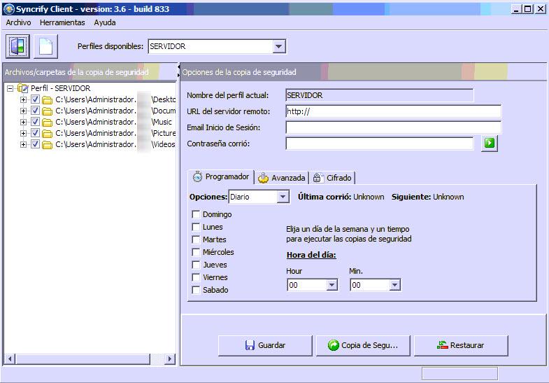 syncrify cliente 1