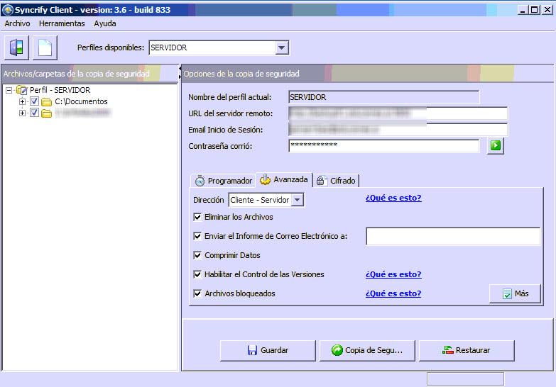 syncrify servidor 3