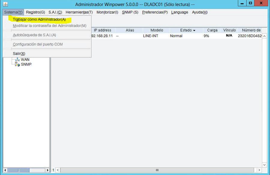 Configurar SAI SALICRU - Mantenimiento informático para empresas Madrid